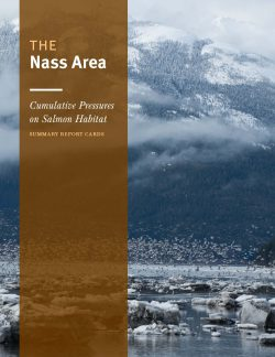 The Nass Area - summary report cards book (front cover)